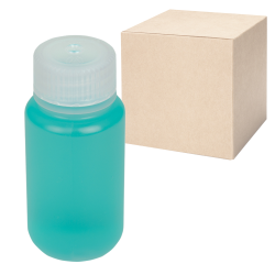 2 oz./60mL Nalgene™ Wide Mouth Economy Polypropylene Bottles with 28mm Caps - Case of 72
