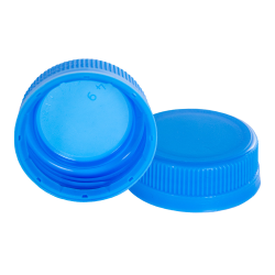 38mm Waterfall Blue DBJ HDPE Tamper Evident Screw Cap