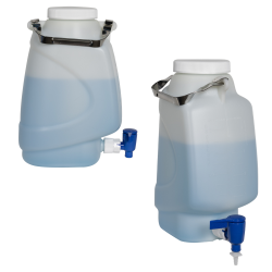 Diamond® RealSeal™ Rectangular HDPE Carboys with Spigot
