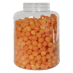 256 oz. Clear PET Jar with 120/400 Neck (Caps Sold Separately)