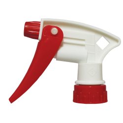 "28/400 White & Red Model 220™ Sprayer with 8"" Dip Tube"