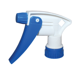 "28/400 White & Blue Model 220™ Sprayer with 8"" Dip Tube"
