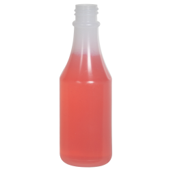 3 oz. Natural Polypropylene Round Bottle with 20/400 Neck (Caps Sold Separately)
