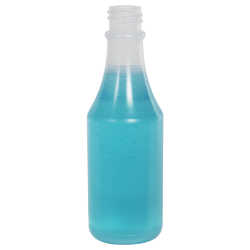 3 oz. Natural LDPE Round Bottle with 20/400 Neck (Caps Sold Separately)