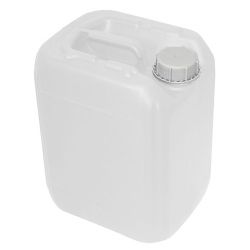 10 Liter/2.64 Gallon Natural HDPE Jerrican with 51mm Tamper-Evident Cap