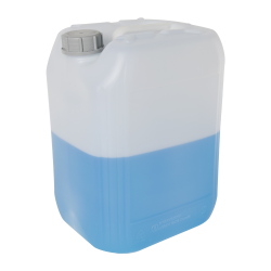 20 Liter/5.28 Gallon Natural HDPE Jerrican with 61mm Tamper-Evident Cap