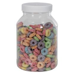 32 oz. Clear PET Jar with 70/400 Cap