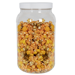 128 oz. (1 Gallon) Clear PET Jar with 120/400 Cap