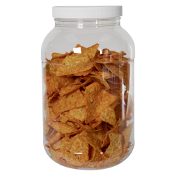 135 oz. Clear PET Jar with 110/400 Cap