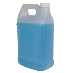128 oz. Natural Fluorinated F-Style Jug with 38/400 CRC Cap
