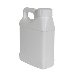 16 oz. White F-Style Jug with 33/400 White CRC Cap with F217 Liner