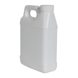 32 oz. White F-Style Jug with 33/400 White CRC Cap with F217 Liner