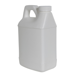 64 oz. White F-Style Jug with 38/400 White CRC Cap