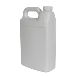 1 Gallon White F-Style Jug with 38/400 White CRC Cap with F217 Liner