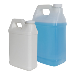 Fluorinated F-Style Jugs with Plain Caps