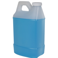 2 Liter Natural F-Style Handleware Jug with 38/400 Plain Cap