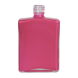 4 oz. Clear Rectangular Glass Bottle with 20/415 Neck (Cap Sold Separately)