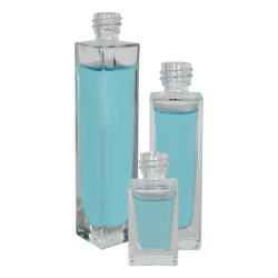 Tall Rectangular Glass Bottles