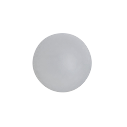 Frosted Polypropylene Ball for 17mm Glass Roll-On Bottle
