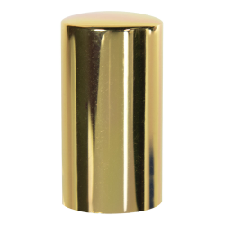 15mm Gold Overcap for Perfume Bottle - Insert Included