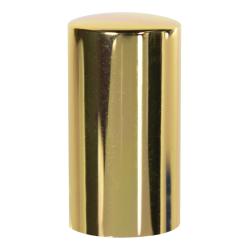 15mm Gold Overcap for Perfume Bottle - Insert Included