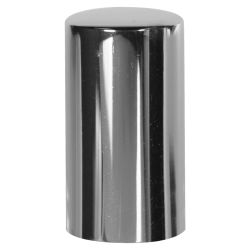 15mm Silver Overcap for Perfume Bottle - Insert Included