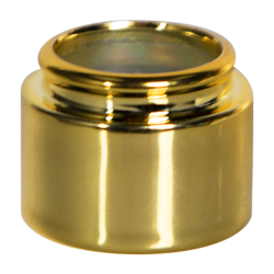 15mm Gold Straight Collar for Perfume Bottle