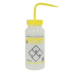 500mL Isopropanol Safety Vented® Labeled Wash Bottles