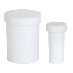 Polypropylene Jars with Lids