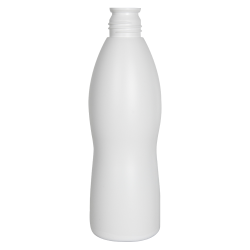 32 oz. HDPE Contour Bottle with 38/430 Buttress Neck (Cap Sold Separately)