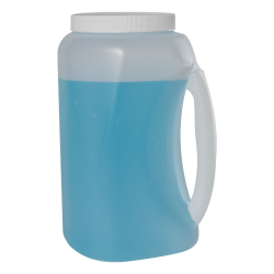 Large HDPE Jar with Handle & Cap