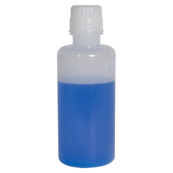 16 oz. LDPE Round Bottle with 38/430 Buttress Cap