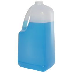 128 oz HDPE EZ Pour Jug with 38/400 Neck (Cap Sold Separately)