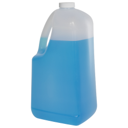 128 oz HDPE EZ Pour Jug with 38/400 Plain Cap