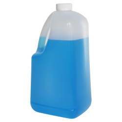 128 oz HDPE EZ Pour Jug with 38/400 CRC Cap