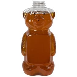 48 oz. (Honey Weight) PET Honey Bear Bottle with 38/400 Neck (Cap Sold Separately)