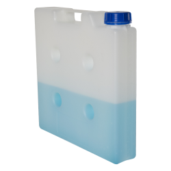 5 Liter Natural Polypropylene Compact Jerrican with Tamper Evident Cap