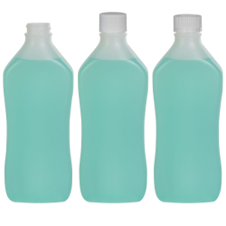 Pinch Waist Oval Bottles