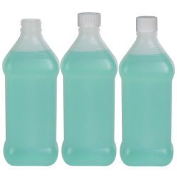 Oval Rubbing Alcohol Bottles