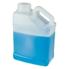1 Gallon Natural F-Style Jug with Slant Handle & 63mm Neck  (Cap Sold Separately)