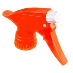 "28/400 Neon Orange Spray Head with 9-1/4"" Dip Tube (Bottle Sold Separately)"