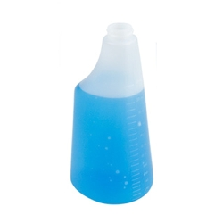 22 oz. Oval Spray Bottle with 28/400 Neck (Sprayer or Cap Sold Separately)