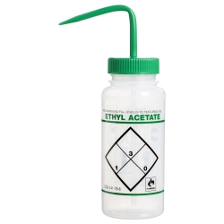16 oz. Scienceware® Ethyl Acetate Wash Bottle with 53mm Green Cap