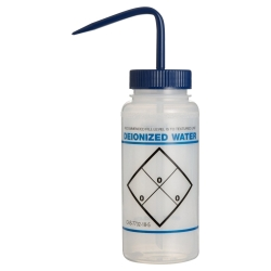 16 oz. Scienceware® Deionized Water Wash Bottle with 53mm Blue Cap