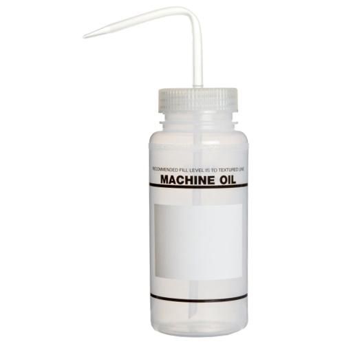 16 oz. Scienceware® Machine Oil Wash Bottle with 53mm Natural Cap