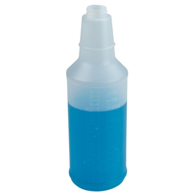 32 oz. Round Spray Bottle with 28/400 Neck (Sprayer or Cap Sold Separately)