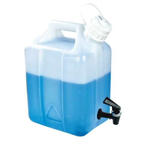 2-1/2 Gallon Nalgene™ Jerrican Modified by Tamco® with Fast Draw Off Spigot
