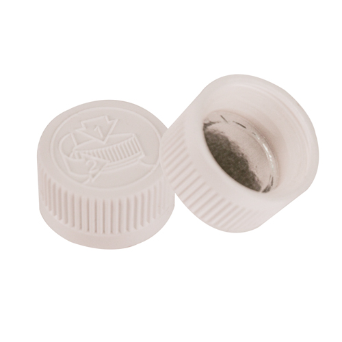 24/400 White CRC Cap with FS3-19 Heat Induction Liner