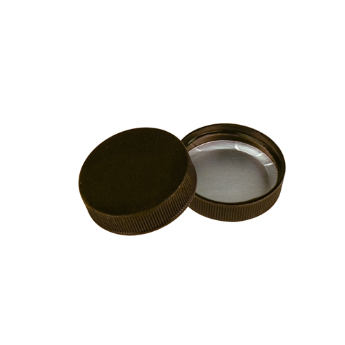 33/400 Polypropylene Black Cap with Heat Induction Liner