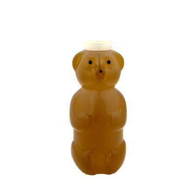 24 oz. (Honey Weight) LDPE Honey Bear Bottle with 38/400 Neck (Cap Sold Separately)